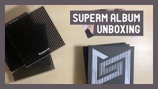 Gambar cover Unboxing ♡ SuperM 1st Mini Album (United Ver.) ☆ 4 Copies