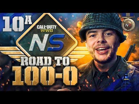 Road to 100-0! - Ep. 10A - He Said I Couldn't Do It... (Call of Duty:WW2 Gamebattles)
