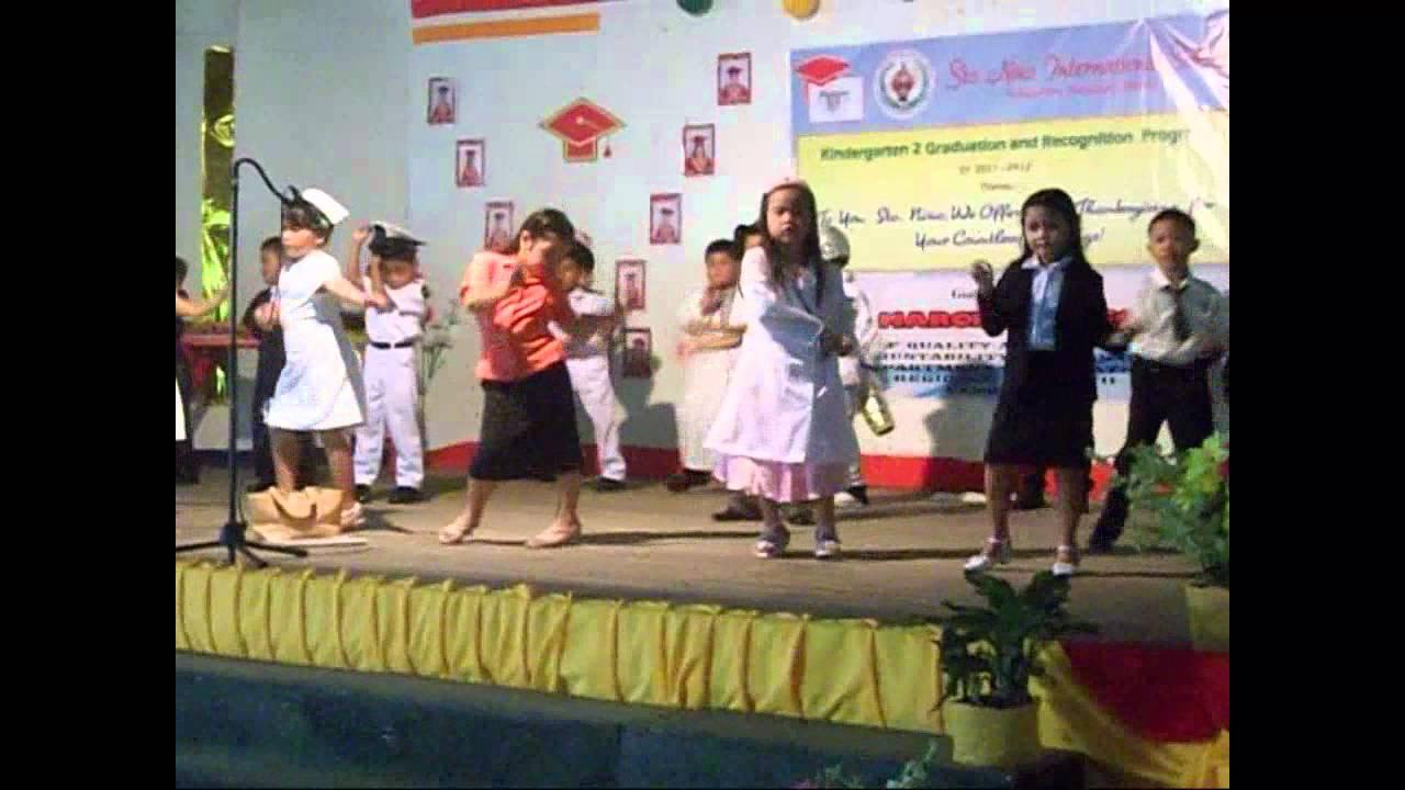snis graduation 2012 kindergarten community helper