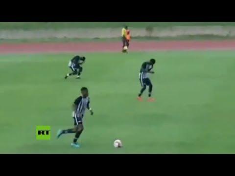 """JR Montano -  VIDEO: Un rayo """"noquea"""" a 4 jugadores en un partido en Jamaica"""
