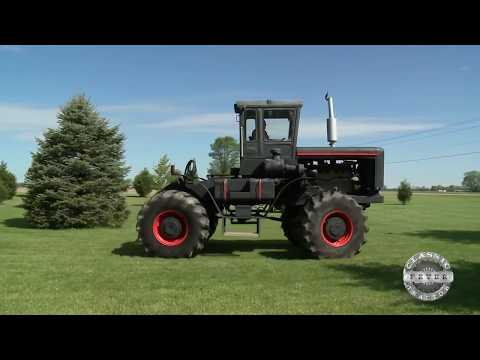 1967 Black Jack Custom Built Muscle Tractor - Classic Tractor Fever Tv