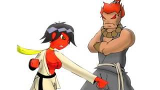 Download Video Super street fighter 4 anime Makoto combo video MP3 3GP MP4