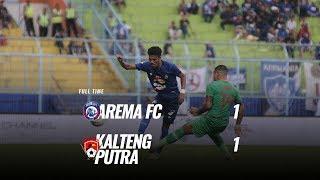 Pekan 30  Cuplikan Pertandingan Arema Fc Vs Kalteng Putra, 1 Desember 2019