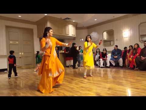 Amar & Zehra Mehendi Dance!