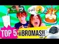 ¡TOP 5 BROMAS con COMIDA!