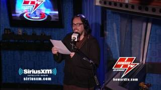 HOWARD STERN: JD reads a poem to Katy Perry in hopes of dating her! Howard Stern Show 2017