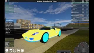Roblox/ Vehicle Simulator #3/ I got a new Ford GT!