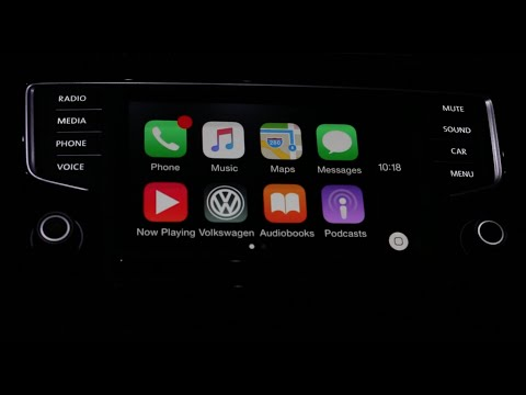 Volkswagen Car-Net App-Connect Apple CarPlay MIB 2