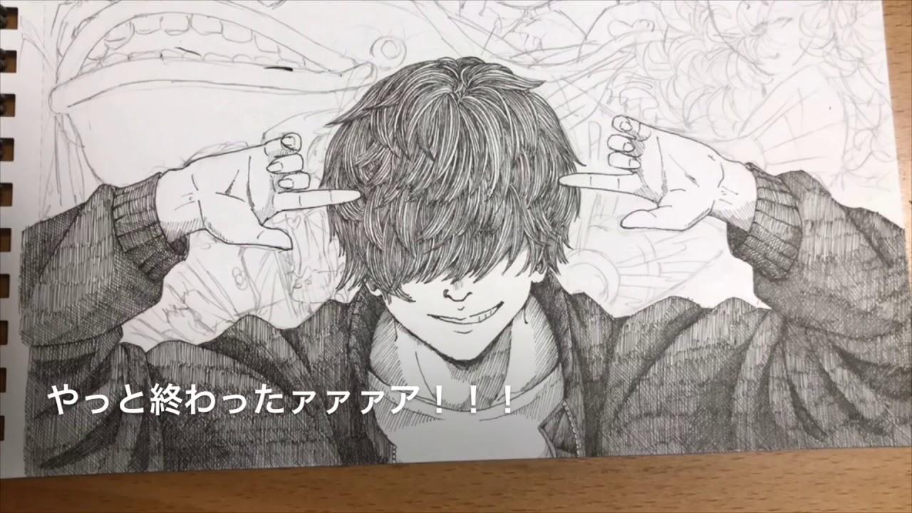 ハチlemon米津玄師さんのファンアートを描いてみた Youtube