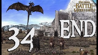 The Battle for Middle-Earth EVIL Campaign Walkthrough - Minas Tirith (ENDING) - Part 34 [Hard]