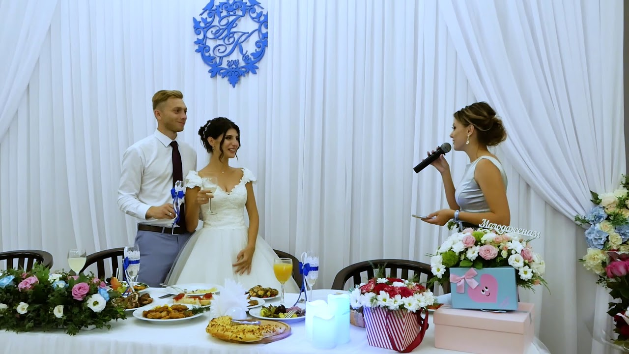Оригинальные поздравления от свидетелей на свадьбе