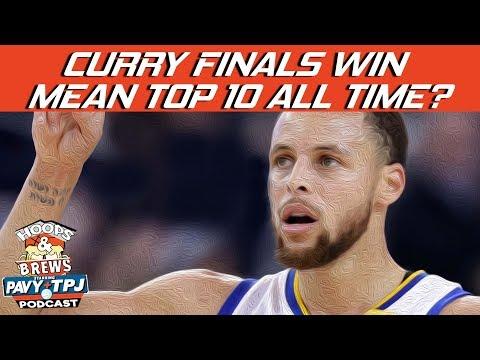 Will Finals MVP Win Validate Steph Curry ? | Hoops N Brews