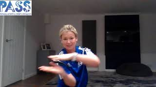 PASS HOME LEARNING EYFS GYMNASTICS LESSON 4
