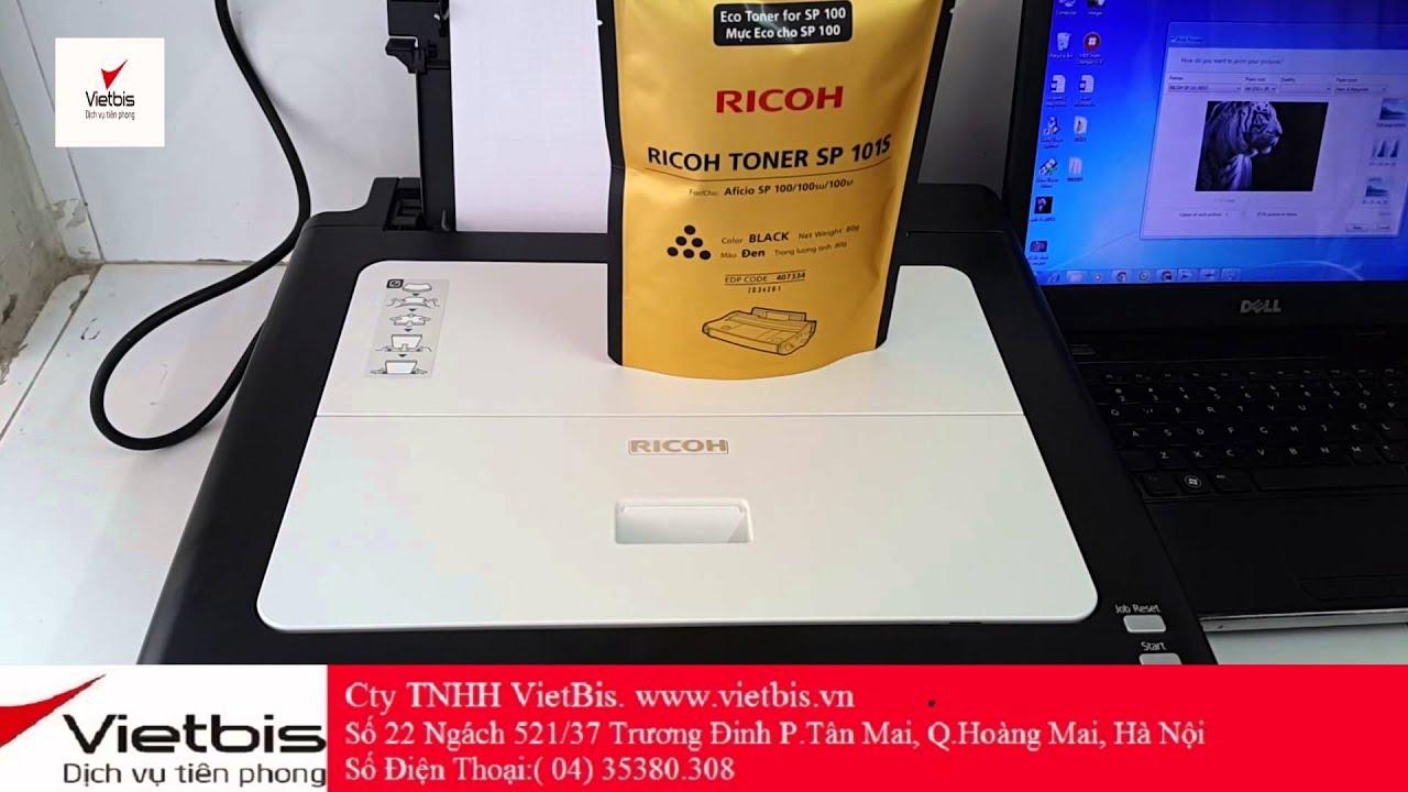 Video Giới thiệu Máy in Ricoh SP 111 Mono Laser Printer – [Vietbis.vn]