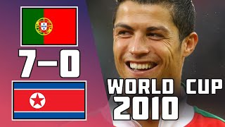 Portugal 7 - 0 Korea DPR | Extended highlights | World Cup 2010
