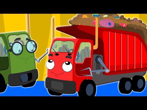 the wheels on the garbage truck | nursery rhyme | childrens rhymes | kids songs | kids tv
