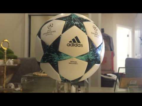 Adidas finale 17 18 match ball unboxing