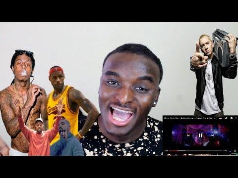 Drake, Kanye West, Lil Wayne, Eminem - Forever (Explicit Version) REACTION