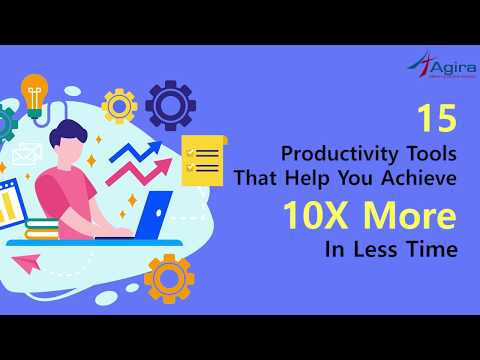 Top 15 Productivity Tools That Help You To Grow Your Business | Startup Tools 2019