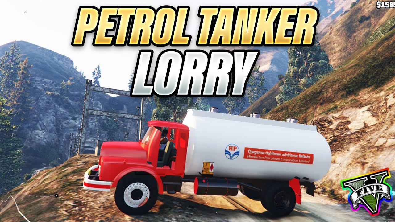 Petrol tanker lorry blasts   Gang war in GTA 5