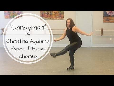 """Candyman"" by Christina Aguilera Dance Fitness Choreography"