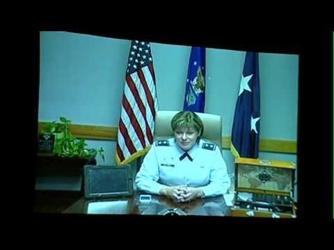 Cyber 1.3: Featured Speaker: Maj. Gen. Suzanne M. Vautrinot, USAF - Participating via Video