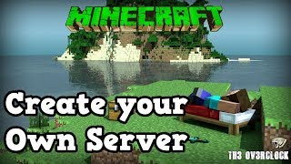 Create your own minecraft server