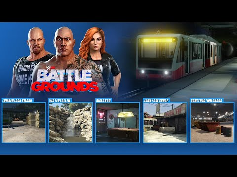 WWE 2K Battlegrounds Arena Menu, 16 Arenas (XB1, PS4, PC, Nintendo Switch, Stadia) Concept from YouTube · Duration:  3 minutes 24 seconds