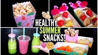 Nine Easy + HEALTHY Snacks!