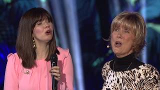 "Joni Eareckson Tada with Kristyn Getty (and band) singing ""Good Shepherd Of My Soul"""
