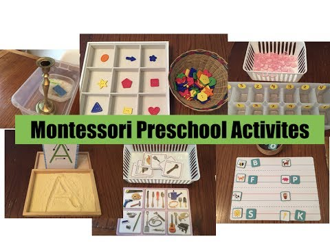 Preschool Inspired Montessori Activities June 2017