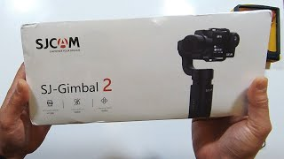 SJCAM SJ GIMBAL 2 - Unbox & Quick Features