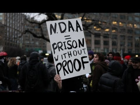 The Military, Mass Protest and the NDAA Indefinite Detention