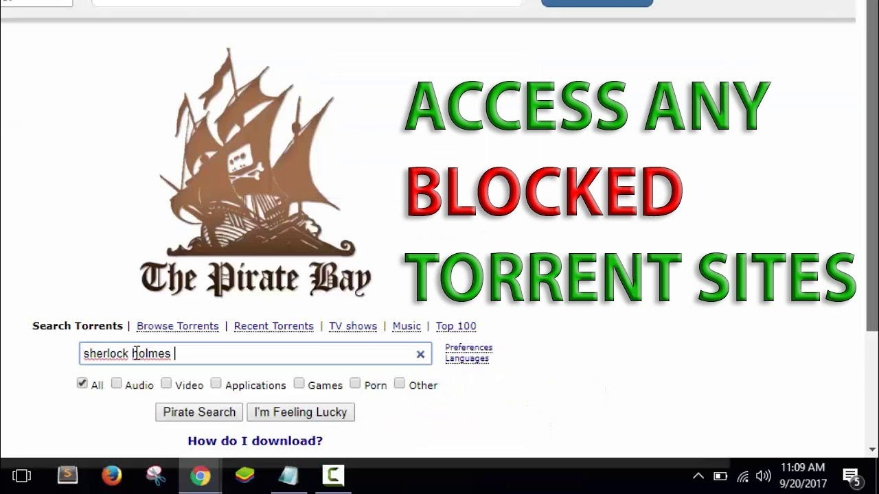 latest unblock torrent sites