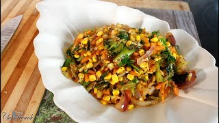 How to make stir fried vegetable !! | Chef Ricardo Cooking