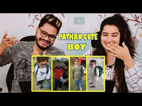 Indian Reaction On Pathan Ka Bacha | Cute Ahmed Shah Latest Video Collection