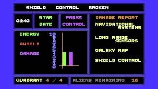 C64 Game - 3D Time Trek