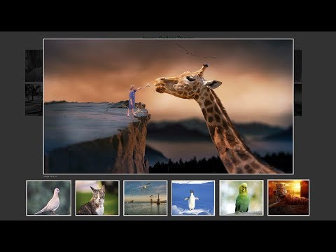 How To Make Image Gallery In HTML, CSS & JavaScript | LightBox Gallery Slider