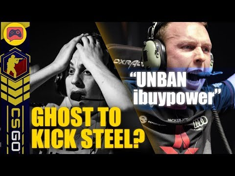 CSGO News | Ghost Gaming to Kick Steel? Gla1ve Wants iBuyPower Unbanned, New Scream Team and More!
