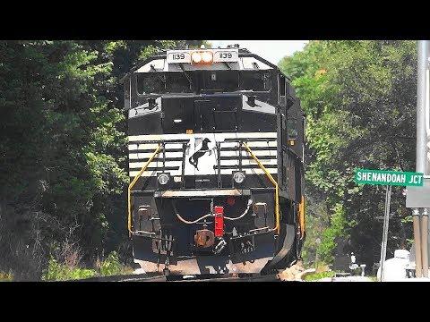 Amtrak, CSX, MARC, & Norfolk Southern Trains in Shenandoah Junction