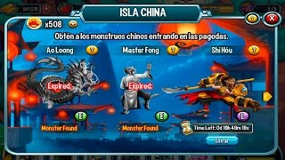 Shi Hou De La Isla China De Monster Legends