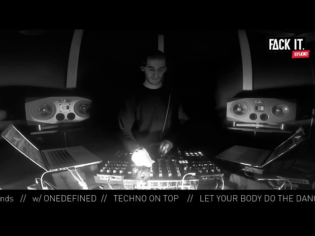 FACK IT PODCAST #14 // ONEDEFINED [TECHNO]