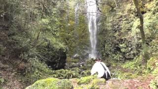 乙原の滝-あめのうた