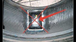 видео ремонт бокового пореза шины