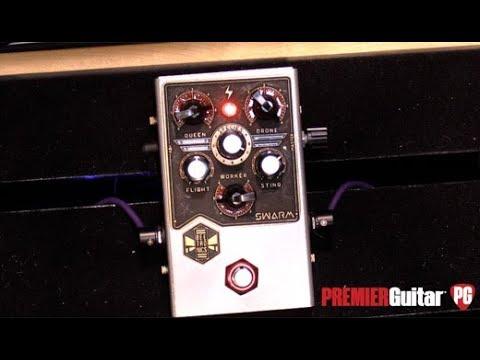 NAMM '19 - Beetronics Swarm Fuzz & Harmonizer Demo