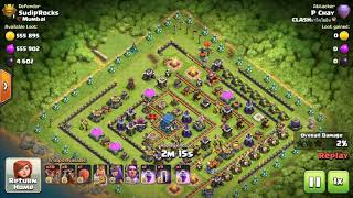 3 stars in Th12 with lava balloons and bat spell 100 💯 percent