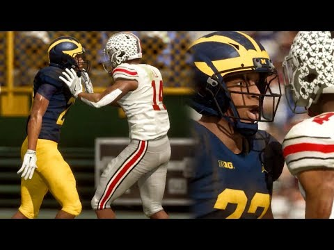 NCAA FOOTBALL 19 GAMEPLAY! Ohio State vs Michigan (Full Game Highlights)