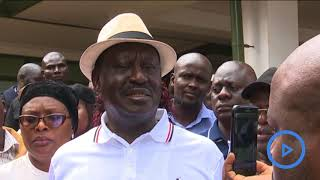 Raila condemns targeted attacks on supporters