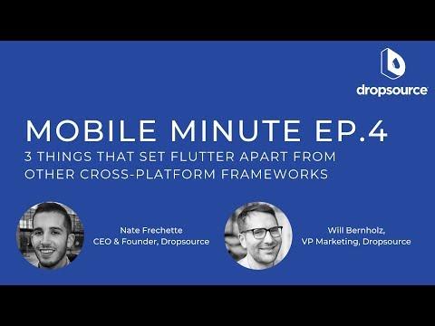 3 Things That Set Flutter Apart From Other Cross-platform Frameworks - Mobile Minute