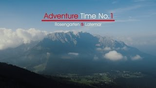 Trip to Alps - Latemar & Rosengarten - South Tirol (Italy) I Adventure Days No.1